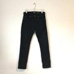 7 For All Mankind Slimmy Jeans In Black